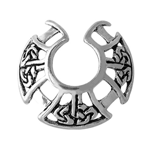 Celtic Nipple Shield - 316L Stainless Steel Celtic Clip on Nipple Jewelry