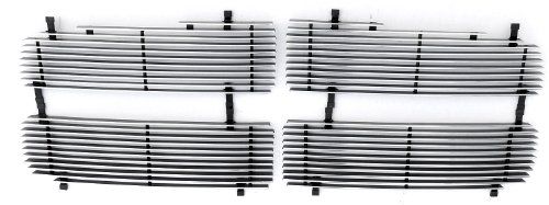 TRex Grilles 20460 Horizontal Aluminum Polished Finish Billet Grille Insert for Dodge Ram ()