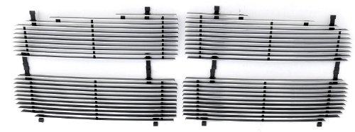TRex Grilles 20460 Horizontal Aluminum Polished Finish Billet Grille Insert for Dodge Ram Pickup
