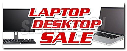"48"" Laptop Desktop Sale Decal Sticker Computers netbooks Notebook Windows"