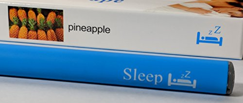 Zzzen Meditation Sleep Aid ~ Natural Relaxation Inhaler ~ Organic Superfood Blend ~ Enhance Mood, Breathe Bliss ~ 500 Puff Disposable *No Nicotine! (Pineapple)