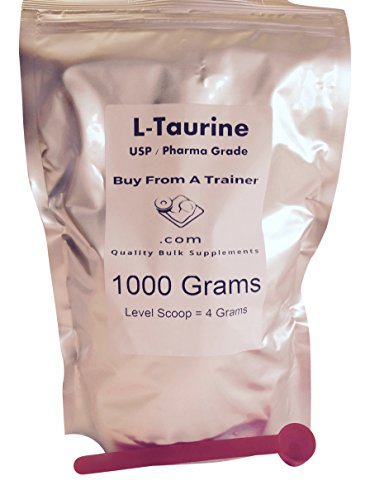 1000g Taurine Pure Powder Amino Acid Kilo Kilogram 1000 Grams Energy Stamina