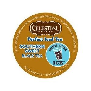 Celestial Seasonings Perfect Southern Sweet Iced Tea * 3 Boxes of 22 K-Cups * by Green Mountain Coffee