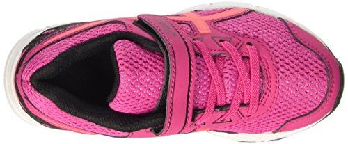 Asics Pre Galaxy 9 Ps, Zapatillas de Entrenamiento Unisex Niños Multicolor (Sport Pink/Flash Coral/Black)