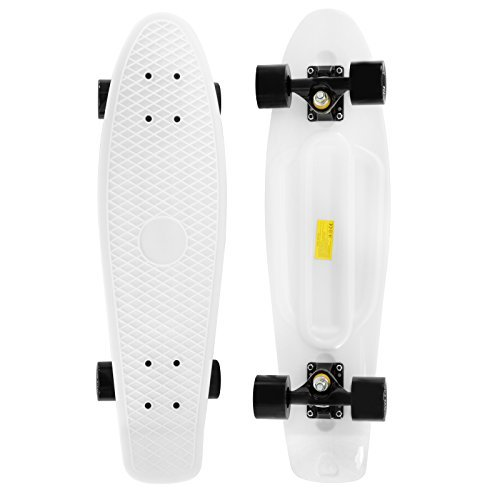Punisher Skateboards GUILTY 31-Inch x 7-Inch Assembled Skateboard with Dual Kick and Double Concave Deck 9016