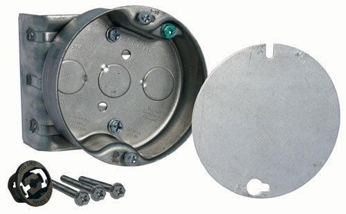 Hubbell-Raco 291-1 - Caja de montaje redonda para ventilador de techo con soporte, 10 unidades: Amazon.es: Amazon.es