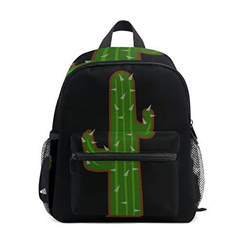 Kids Backpack Cactus Girls School Bag Multipurpose Daypacks Backpacks