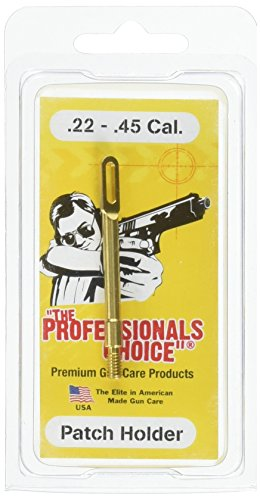 The Professional's Choice Brass All Pistols .22 Caliber Patch Holder, 6.5mm - Jag Tip Brass