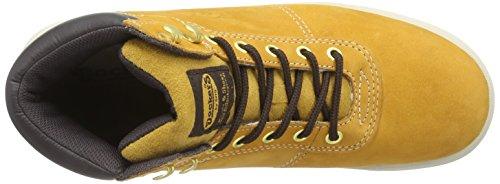 Dockers 33CG008 - zapatillas deportivas altas de cuero hombre beige - Beige (golden tan 910)