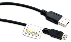 ReadyPlug USB Cable for Kodak PIXPRO AZ401 Astro Zoom Digital Camera Picture/Photo/Computer/Data Transfer (Black, 3 Feet)