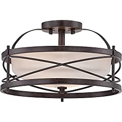 Nuvo Lighting 60/5335 Two Light Semi Flush Mount