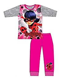 Miraculous Ladybug Girls Licensed Marinette Print Cotton Pajamas Age 4 to 10 Years