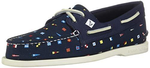 Sperry Top-Sider Authentic Original Prep Boat Shoe Men 9.5 Navy ()