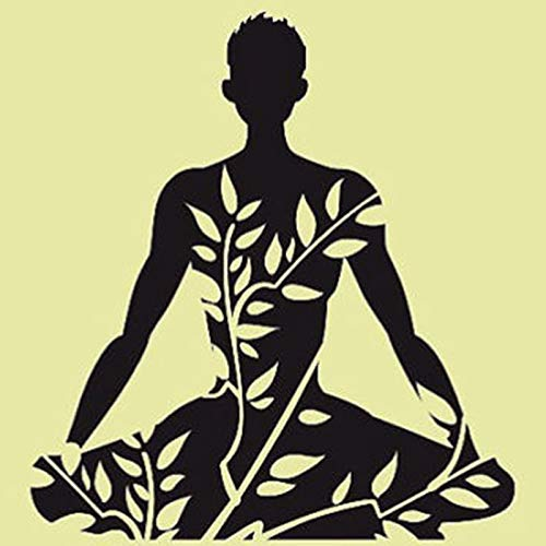 GUUTOP Yoga Sticke Decal Body-Building Posters Vinilo ...