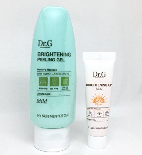 Price comparison product image Dr.G Gowoonsesang Brightening Peeling Gel (60ml) + Brightening Up Sun SPF 50+ PA +++(10ml)