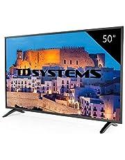 TD Systems K50DLM8F - Televisor Led 50 Pulgadas Full HD, resolución 1920 x 1080, 3X HDMI, VGA, USB Reproductor y Grabador