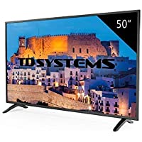TD Systems K50DLM8F - Televisor Led 50 Pulgadas Full HD, resolución 1920 x 1080, 3X HDMI, VGA, USB Reproductor y Grabador