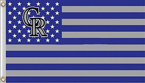 Five Star Flags New Colorado Rockies Flag, Rockies Flag, Flag for Indoor or Outdoor Use, 100% Polyester, 3 x 5 Feet.