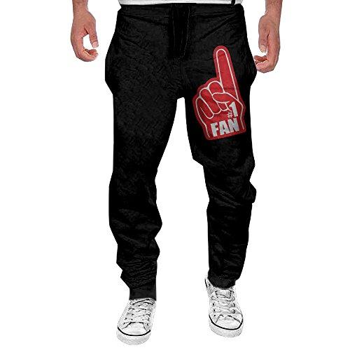 Men Say Hello To My #1 FAN Casual Sweatpants XXL ()