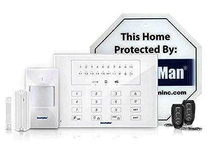 Securityman Air-AlarmIIE Wireless Smart Home DIY Alarm System, Economy Kit (White)