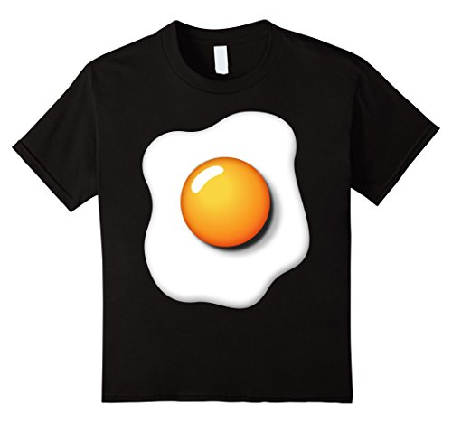 Kids Funny Fried Egg Shirt DIY Halloween Costume Ideas Egg Yolk 12 (Diy Boys Halloween Costume Ideas)