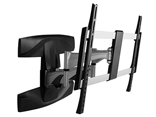 Monoprice Full-Motion Articulating TV Wall Mount Bracket - for TVs 37in to 70in Max Weight 99lbs Extension Range of 2.1in to 17.6in VESA Patterns Up to 600x400 UL Certified from Monoprice