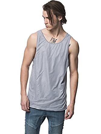 KUWALLA TEE Sky Scraper Premium Tank Top - Steel, Medium