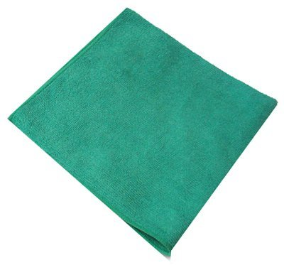 Impact LFK300 Microfiber All-Purpose Cloth, 16'' Length x 16'' Width, Green (15 Bags of 12) by Impact Products