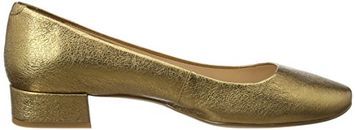 se Unisa old 18 Or Ballerines Femme Gold Donna qEr7pnq