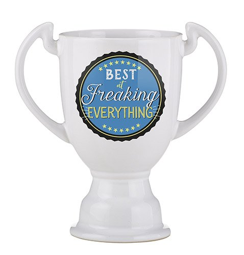 Set of 4 Trophy Mug - Best At Freaking Everything
