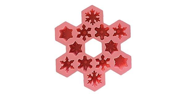 OrchidAmor - Molde de Silicona para Cubitos de Hielo, diseño ...