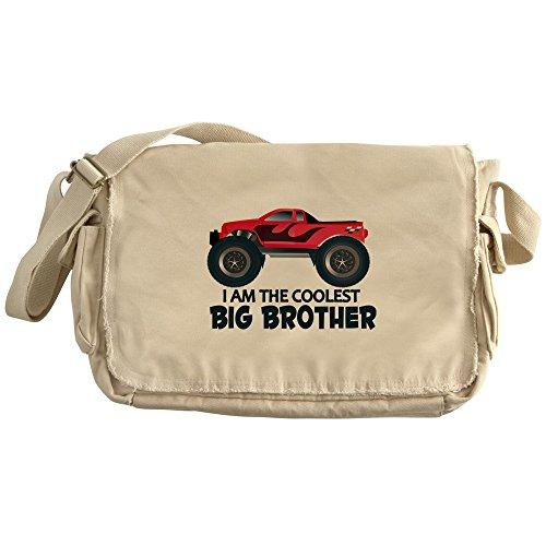 Price comparison product image CafePress - Coolest Big Brother - Truck - Unique Messenger Bag, Canvas Courier Bag