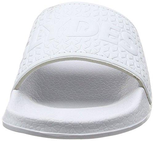 Slydes Chanclas Para Logo F Blanco Mujer nn8SPxT