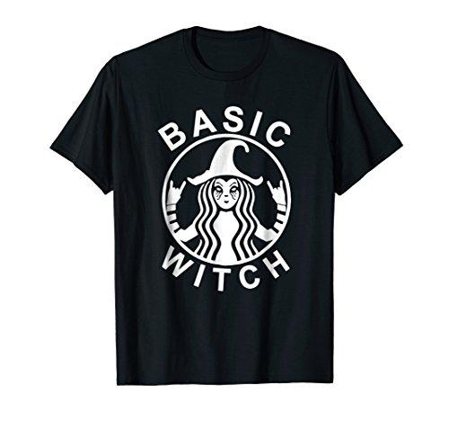 Funny Basic Witch Halloween Shirt Womens Halloween Gift