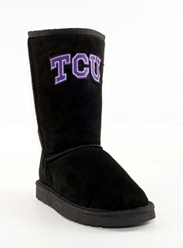 Gameday Boots NCAA TCU Horned Frogs Women's, Black, ()
