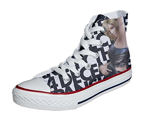 Girls Adulte Artisanal All Converse produit Chaussures Mixte Star Pretty Coutume wXzq64qfA