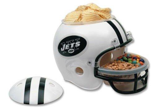Caseys Distributing New York Jets Snack Helmet