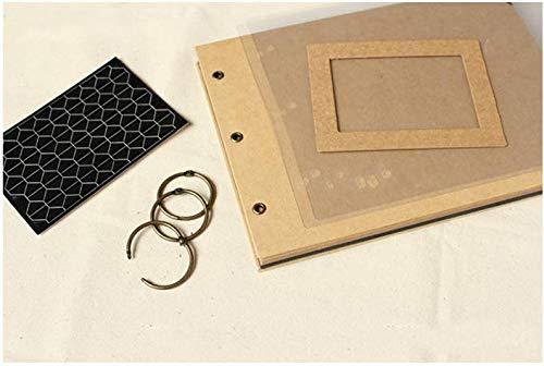 Teamo DIY Kraft Paper Wedding Album Scrapbook Album Photo Album