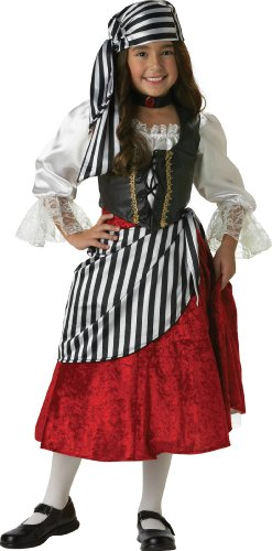 InCharacter Costumes, LLC Big Girls' Pirate Mid-Length Dress Set