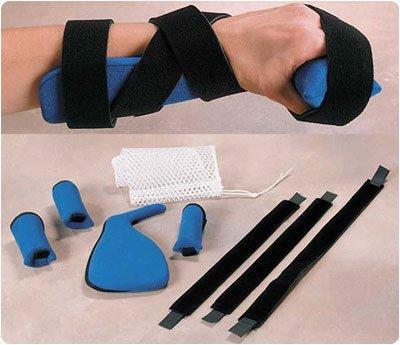 Rolyan Kwik-Form Progressive Hand Splint. Size: M/L 7¼