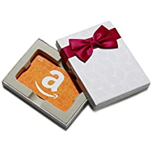 Amazon.ca $25 Gift Card in a White Gift Box (Amazon Icons Card Design)
