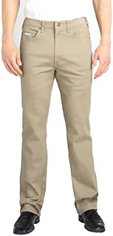 Grand River Jeans Stretch Denim Pants for Men – Khaki – Cotton/Spandex