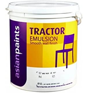 Asian Paint Tractor Emulsion, 20L (White): Amazon in: Home Improvement