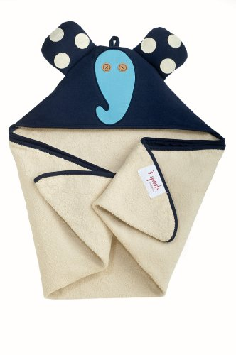 3 sprouts hooded towel - 3