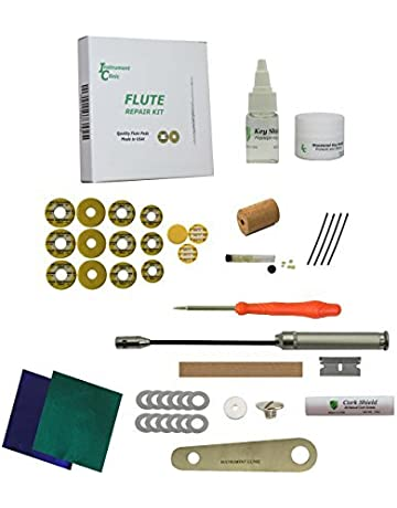 .004 Thick Made in USA Permanent Instrument Clinic Flute Pad Shims 120 Shims 17.0mm Diameter Adhesive-Backed