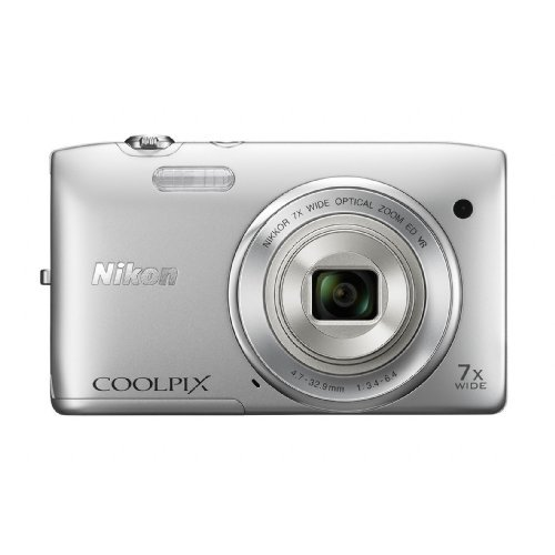 nikon-coolpix-s3500-201-mp-digital-camera-with-7x-zoom-silver-certified-refurbished