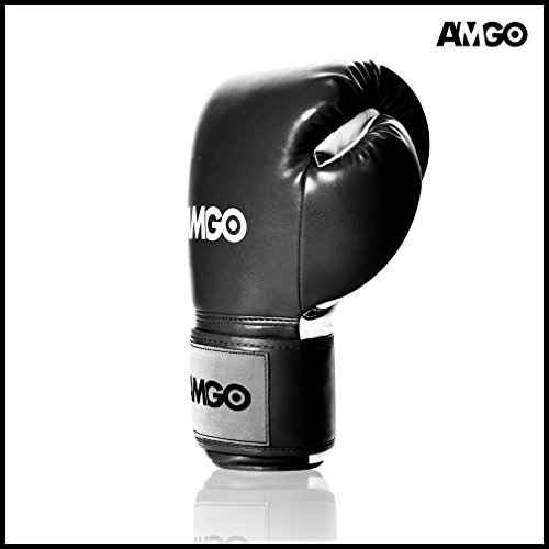 Amgo All Purpose Professional Grade Design Boxing Training Gloves - 3 Years Warranty