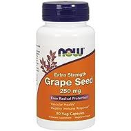 NOW® Grape Seed Extract, 250 mg, 90 Veg Caps