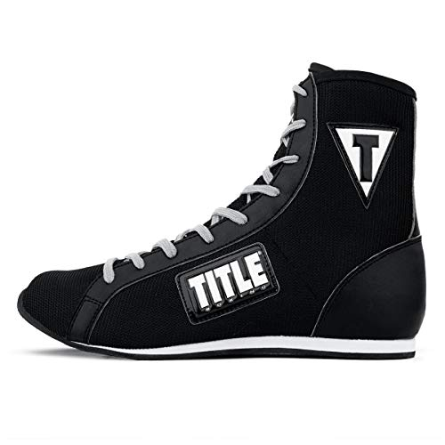 Title Boxing Innovate Mid Boxing Shoes, Black, 10