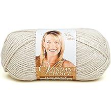 Lion Brand Yarn 860-099H Vanna's Choice Yarn, Linen